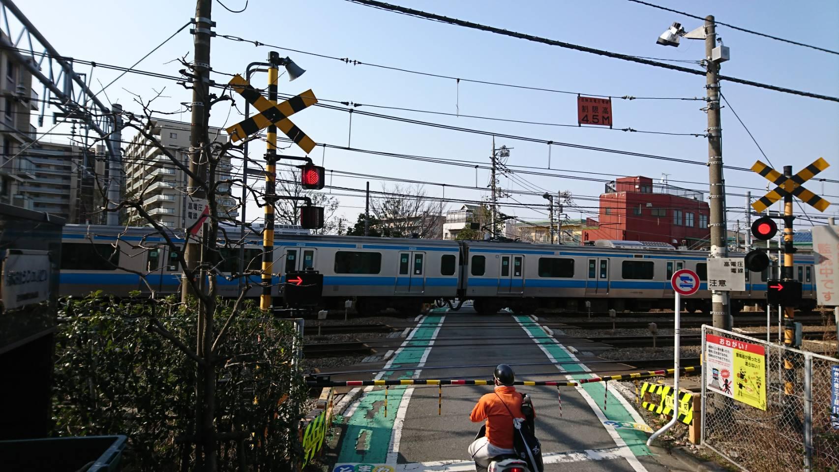 大田区仲六郷、JR東海道線、京浜東北線