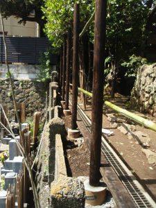 竹垣・焼き杉